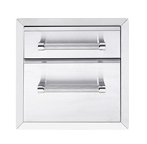 KitchenAid 780-0017 Built-in Grill Cabinet Drawer Storage, 18'', Stainless by KitchenAid