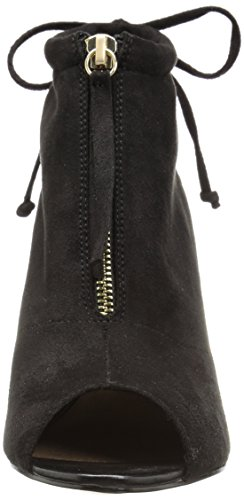 Bella Vita Womens Nicky II Ankle Bootie, Black Super Suede, 6 N US