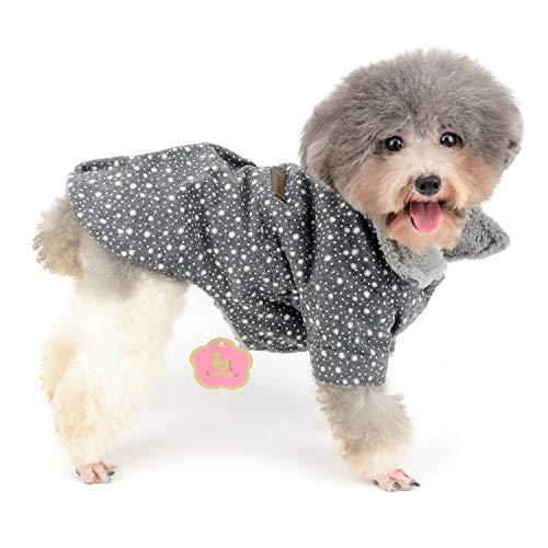 Zunea - Chaqueta de Forro Polar para Perros y Gatos: Amazon.es: Productos para mascotas