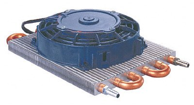 Flex-a-lite 4190 Remote 6-Pass Transmission Oil Cooler - 16,000 GVW by Flex-a-lite