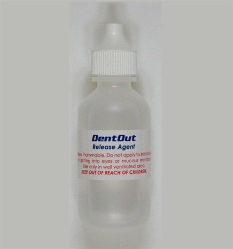 Dent Out Release Agent for Glue & Dent Pullers 1oz Refill for Crossbar Cone T Handle Kits