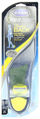 HEEL ORTHOTICS BACK PAIN MEN 1 PR