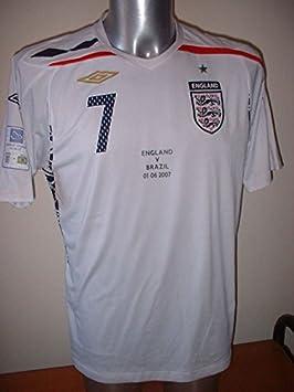 UMBRO England bnwot Beckham Brasilien Wembley Erwachsene Medium Large XL XXL New Fu/ßball Shirt Trikot LA Galaxy Euro