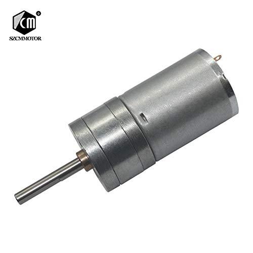 dc brush motor low rpm - 5