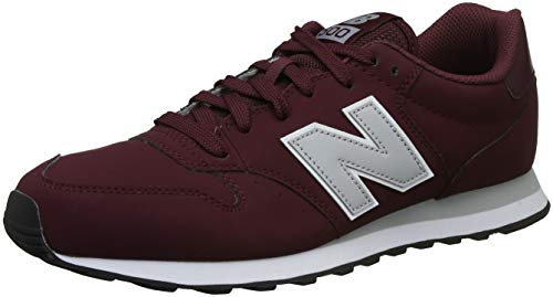 New Balance Scarpa Uomo Lifestyle Leather Red/Grey