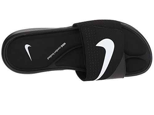 b380b69f3cd209 Galleon - NIKE Mens Ultra Comfort Slide 882687-003 Black White-Black (15 D  US)