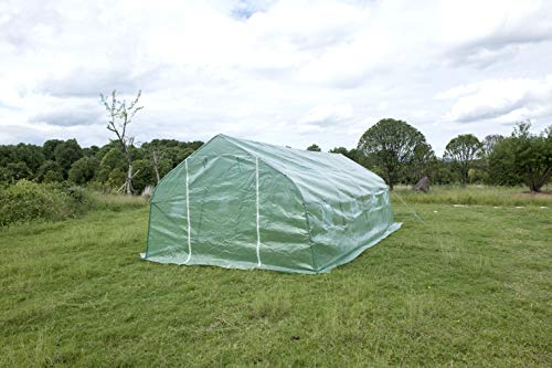 GOJOOASIS Walk-in Greenhouse 20'x10'x7' Outdoor Large Portable Green Garden House Plant Shed by GOJOOASIS (Image #3)