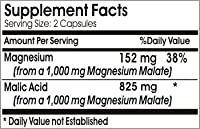 Malic Acid 825mg 200 Capsules Gluten FREE 100% Natural. Serene Dew Supplements