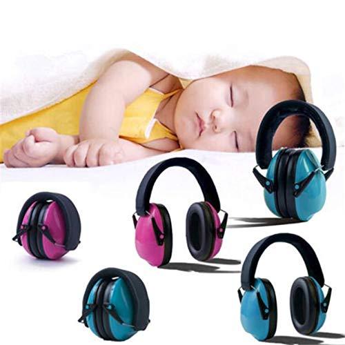 8Eninite Cuffie antirumore per Bambini Cuffie antirumore Regolabili Cuffie antirumore Rosa insonorizzate