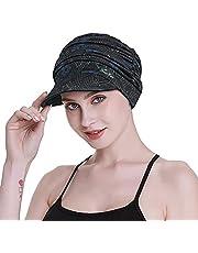 FocusCare Zachte chemo sjaals voor vrouwen, bamboe-stof, baseballpet, tulband voor haaruitval