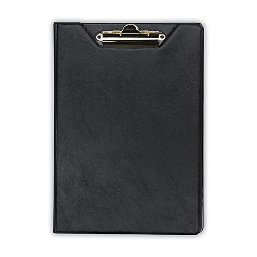(Samsill Value Padfolio with Clipboard, Letter Size Writing Pad, Black (71410))