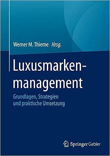 c1004478a066b9 Luxusmarkenmanagement  Grundlagen