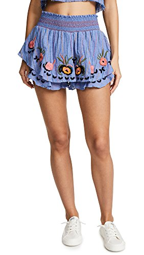 Red Carter Women's Barra Skort, Chambray, Medium by Red Carter
