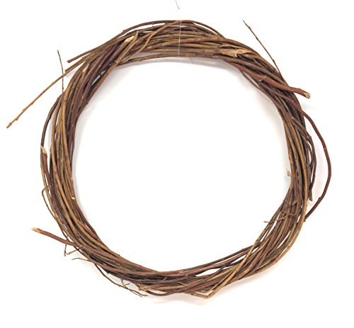 Autumn Harvest Brown Willow Wreath, 12