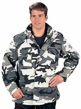 8994 Ultra Force City Camo M-65 Field Jacket (Large)