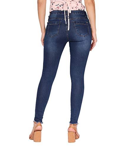 2772 Femme Denim Stretch Fonc Jeans Bleu KRISP z4Ywff