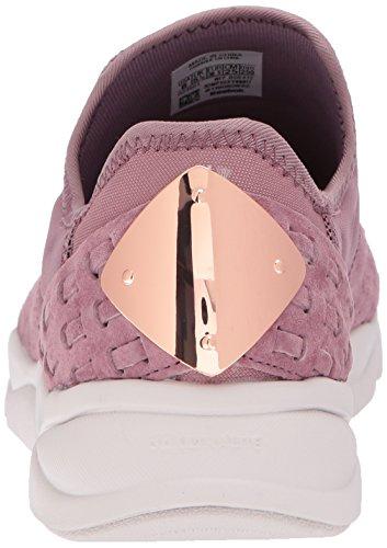 Reebok Womens Furylite Slip On Fbt Track Shoe Fumè Orchidea / Lilla Cenere