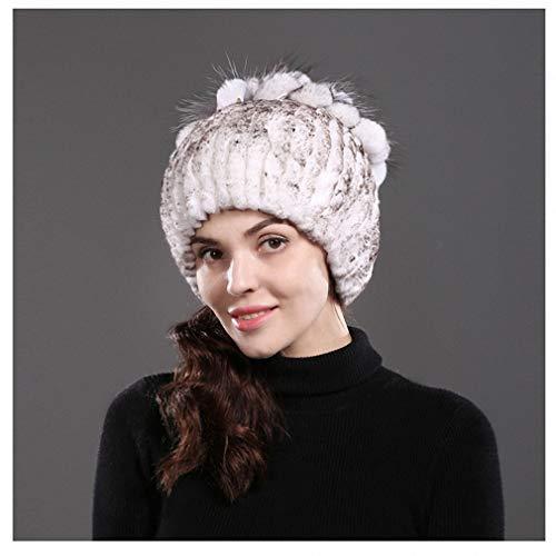 6851f22e6 Amazon.com: Tebapi Womens Mens Skullies Beanies Hat Women's Genuine ...
