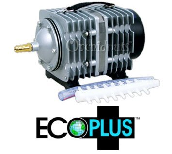 EcoPlus Commercial 7 Hydroponic/Aquarium Air Pump by EcoPlus