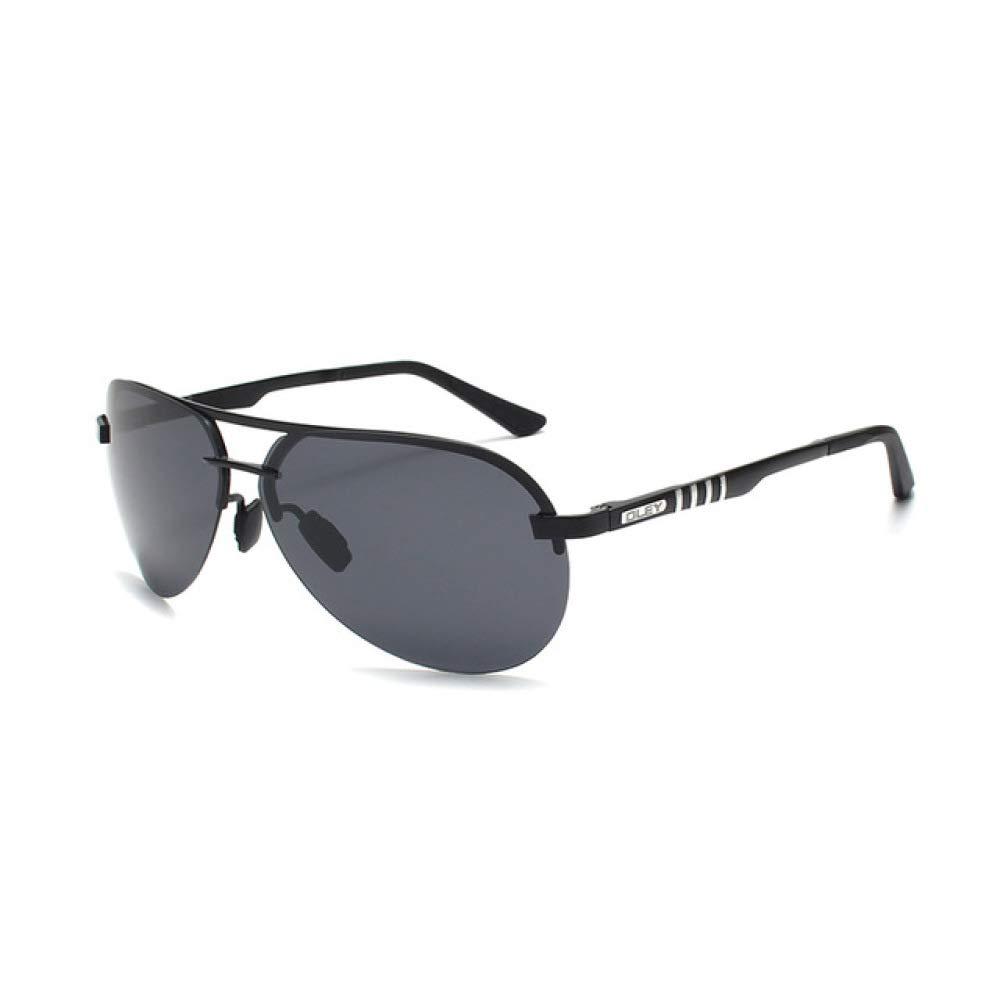 Yangjing-hl Gafas de Sol polarizadas de Marca Hombres Gafas ...