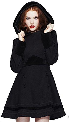 Hell Bunny - Manteau - Femme noir noir XL