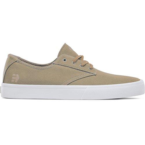 Etnies Herren Jameson VULC LS Skateboardschuhe, Weiß Tan