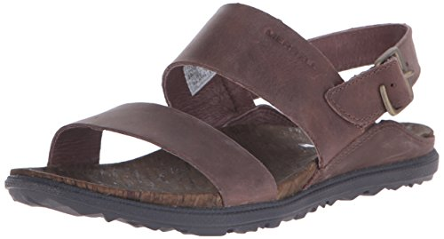 Merrell Women's Around Town Backstrap Sandal, Brown, 8 M US