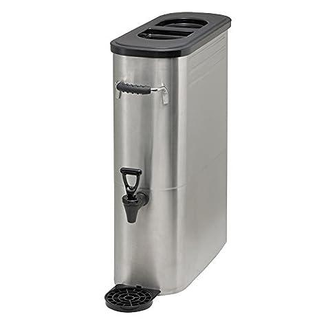 Winco SSBD-3 Stainless Steel Ice Tea Dispenser, 3-Gallon - 3 Gallon Iced Tea