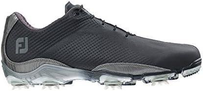 FootJoy Men's DNA DryJoy Golf Shoes Black/Silver/Grey Size 9 M US