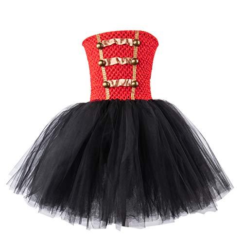 AQTOPS Girls Christmas Nutcracker Tutus Costumes Drum Majorette Outfits