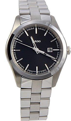 Rado Hyperchrome S R32110153 Black Dial Stainless Steel Quartz Women's Watch