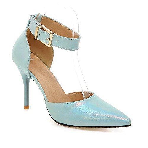 Bleu BalaMasa Compensées Femme 36 Bleu 5 ASL05537 Sandales PAvAwq8I