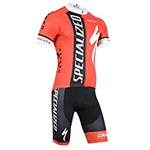 ETBO 2015 Specialized Team Cycling Jersey Shorts+Bib Set Team Cycling Kit