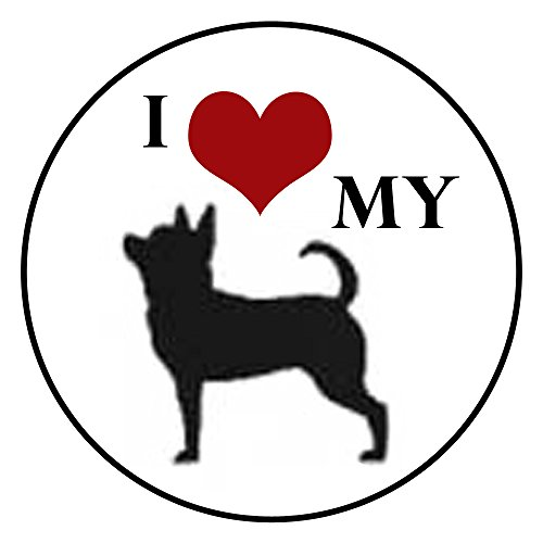 I Love My Chihuahua Glass Nugz - interchangeable jewelry - Design My Glasses Own