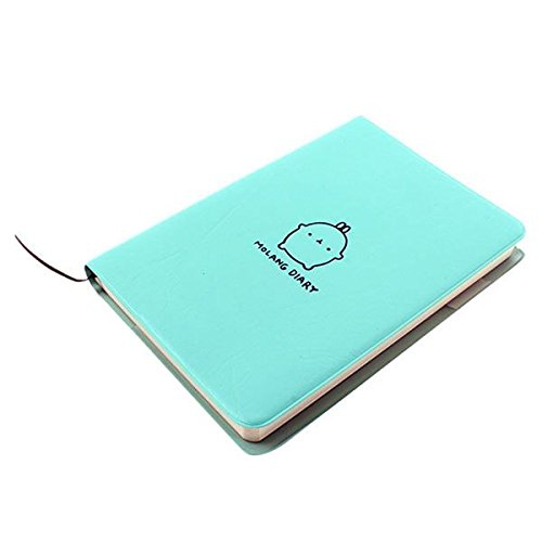"Haiker Green ""Molang Rabbit"" Diary Any Year Planner Pocket Journal Notebook Agenda Scheduler"