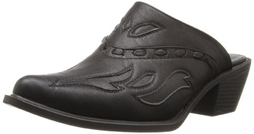 ROPER Women's Rockstar Interlace Mule, Black, 7 B - Medium ()