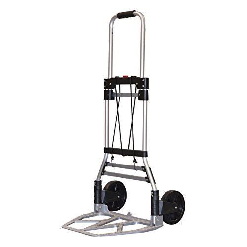 Milwaukee Hand Trucks 33882 Aluminum Fold up Hand Truck with 7-Inch Tires by Milwaukee
