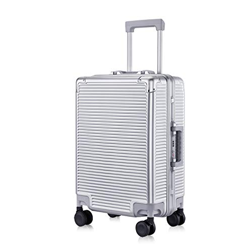 - Carry-On Deep Hardside Aluminum Frame Luggage, 20