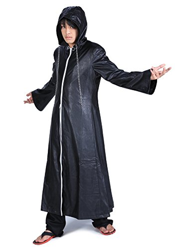 SDWKIT Kingdom Hearts II Cosplay Organization XIII Leather Outfit 2nd Ver