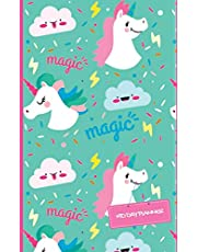 """Kid Day Planner: Unicorn Design Cover Weekly Pocket Planner Journal : Daily Small Fun To Do List Planner : Notebook : Organizers: Agenda With Space Schedule, Tracking Activities & Checklist For Kids,Girls,Students With Weekly 5""""x8""""-120 Pages (Day Planner for Kids)."""