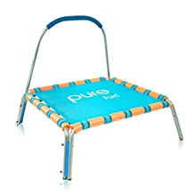 """Pure Fun Kids Jumper: 36"""" Mini Trampoline with Handrail, Youth Ages 3 to 7"""