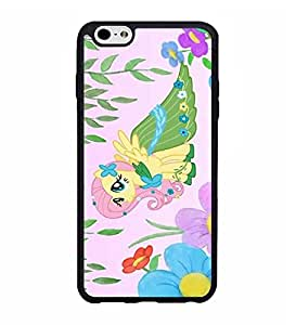 Iphone 6 6s Plus (5.5 inch) Funda Case Disney My Little Pony Tough Hard Plastic Funda Case Cover