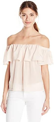 French Connection Women's Summer Crepe Light Ots Top
