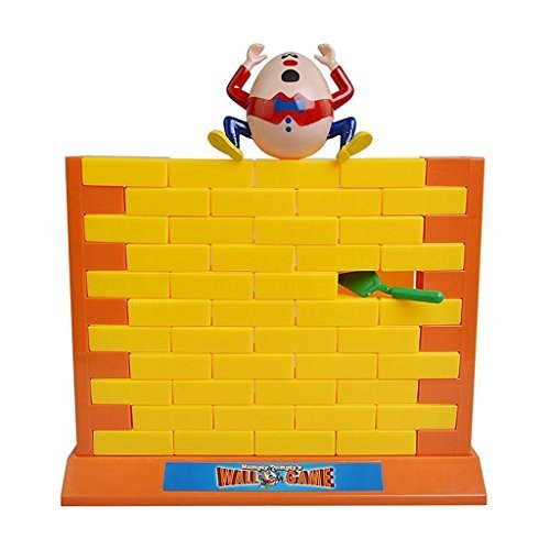 Cafolo Humpty Dumpty's Wall Game Plastic Parent-Child Educational Family Game, Yellow