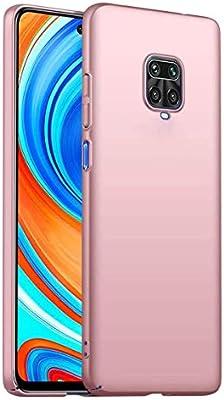 HUUH Funda para Xiaomi Redmi Note 9S/Redmi Note 9 Pro/Redmi Note 9 Pro MAX,Funda para teléfono móvil a Prueba de caídas, a Prueba de Polvo y Resistente a los Golpes(Rosado): Amazon.es: Electrónica