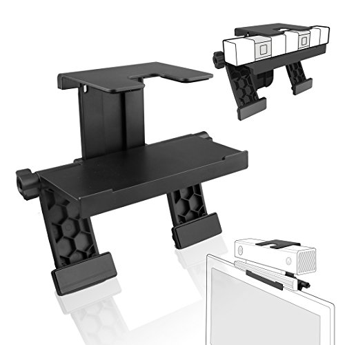 Price comparison product image A-szcxtop Universal TV Mount Holder Stand Adjustable Clip for PS4 / PS3 / Xbox One / Xbox 360 / Wii U / Wii Camera