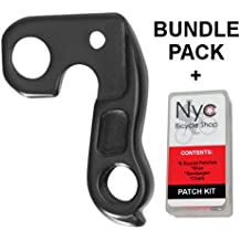 Bundle 2 items: Derailleur Hanger 48 for Diamondback, Nishiki, Univega, Ghost, Raleigh with Bicycle Patch Kit