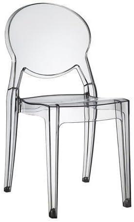 SCAB DESIGN sedia igloo chair in policarbonato trasparente
