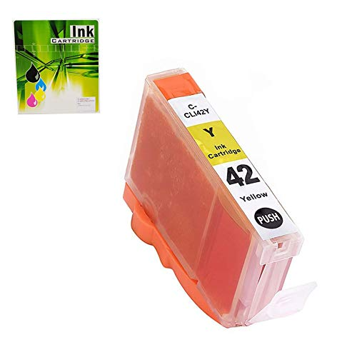 NEXTPAGE Compatible Ink Cartridges Replacement for CLI-42 Yellow Professional Inkjet PIXMA PRO-100, CLI42Y 1 Pack (Canon 42 Yellow Ink)