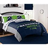 """The Northwest Company NFL Seattle Seahawks """"Monument"""" Full/Queen Comforter Set #887166350"""